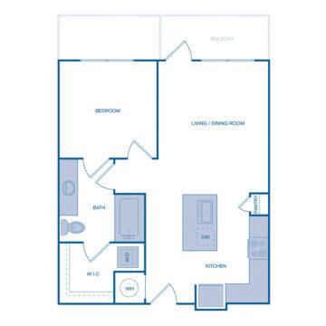 1051 floor plan
