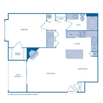 D-205 floor plan