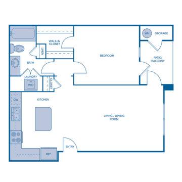 AA-208 floor plan