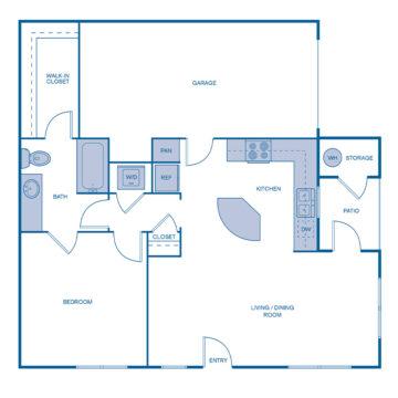 CC-110 floor plan