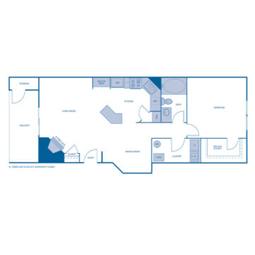 X-204 floor plan
