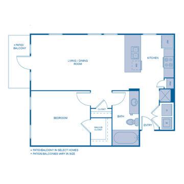 B-0207 floor plan