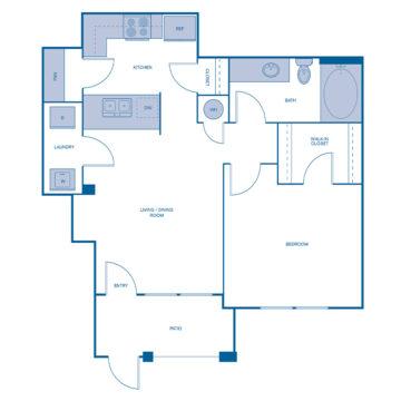 L-107 floor plan