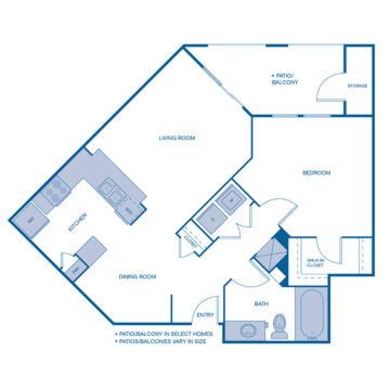 B-0204 floor plan