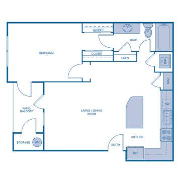 DD-305 floor plan