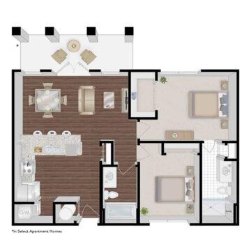 125-302 floor plan
