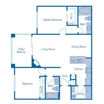 2071 floor plan