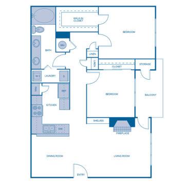0934 floor plan