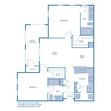 J-0204 floor plan