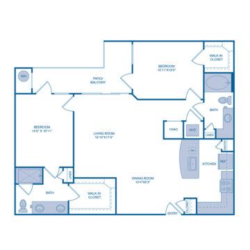 421 floor plan