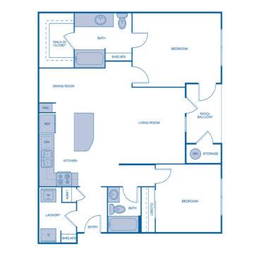 BB-205 floor plan