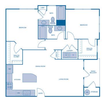 AA-215 floor plan