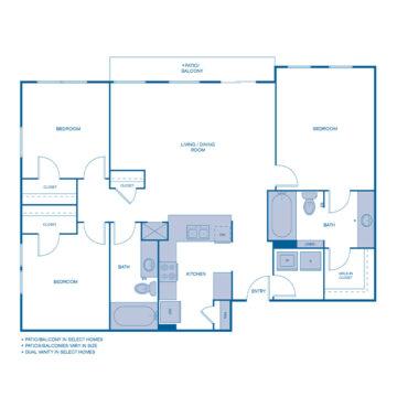 B-0203 floor plan
