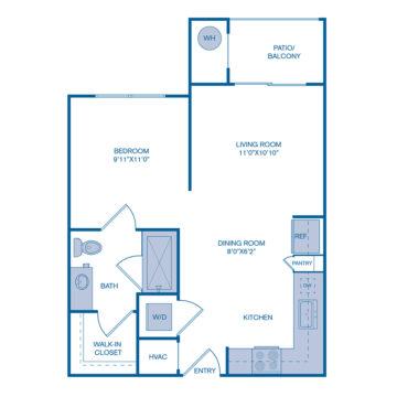354 floor plan