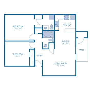 2040S floor plan