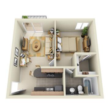 B2-122 floor plan