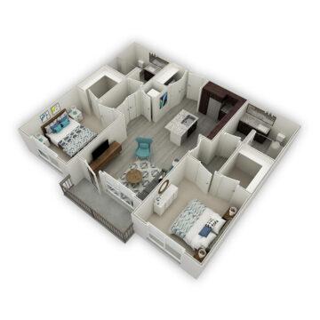 885-305 floor plan