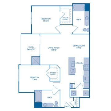 2711 floor plan