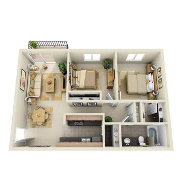 A2-227 floor plan