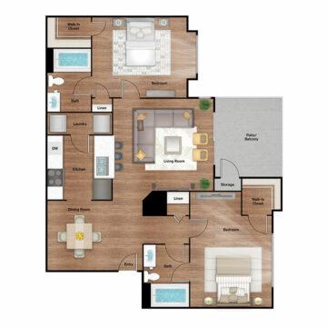 14201 floor plan