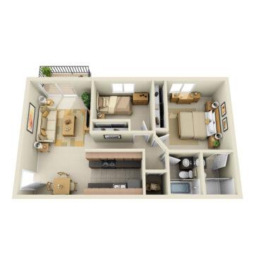 D1-244 floor plan