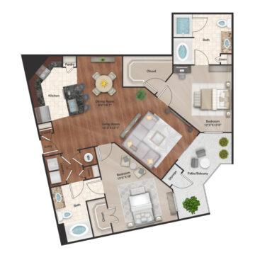1401 floor plan