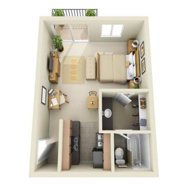 C1-232 floor plan