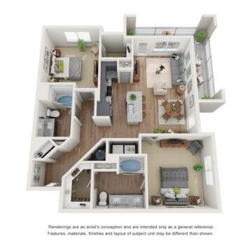 100-1427 floor plan